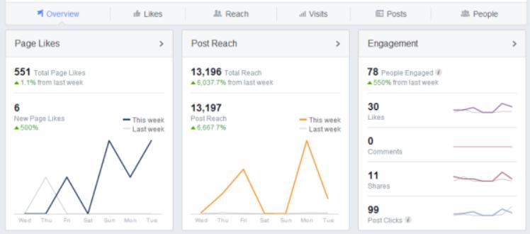 Page Insights để target chuẩn khách hàng trên Facebook
