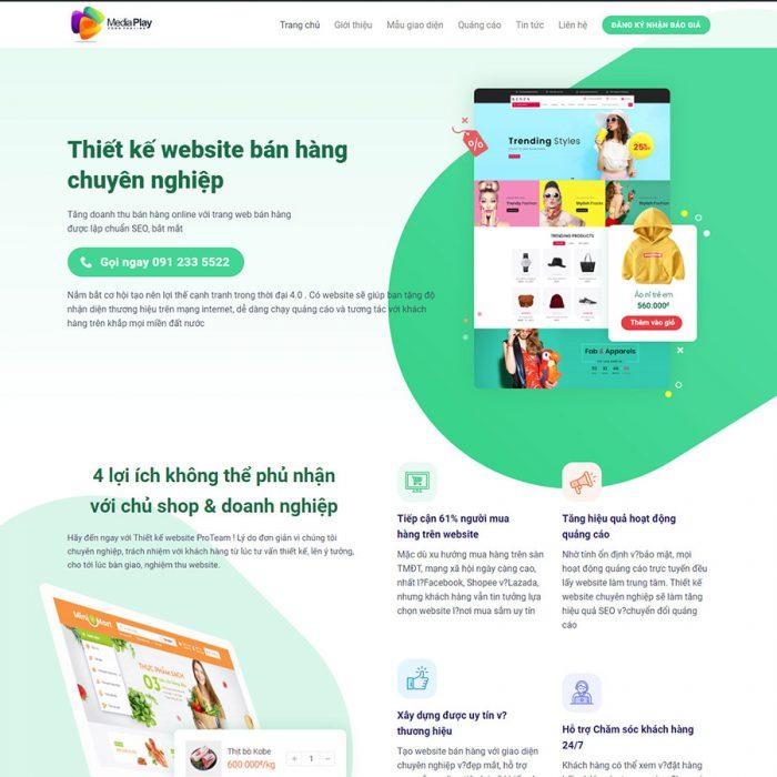 Mẫu web chuẩn SEO thietkeweb1